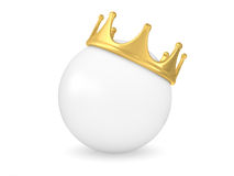 Crowned Sphere Royalty Free Stock Image