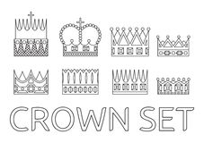 crowns Fotografia Stock Libera da Diritti