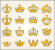 crowns Fotografia Stock
