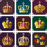 Crowns stock illustration