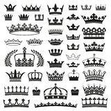 CROWNS collection Stock Photography