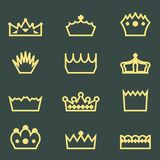 Crowns Royalty Free Stock Photo