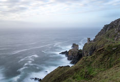 The Crowns Tin Mines at Botallack in Cornwall Royalty Free Stock Photos