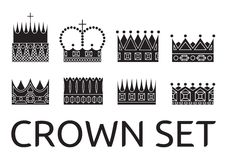 Crowns Stock Image
