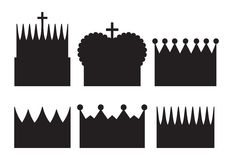 Crowns Stock Photo