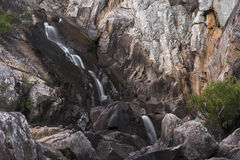 Crows Nest Falls during the day. Royalty Free Stock Images