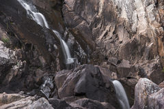 Crows Nest Falls during the day. Stock Image
