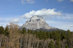Crowsness Mountain, Alberta Royalty Free Stock Image