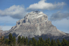 Crowsness Mountain, Alberta Royalty Free Stock Photo