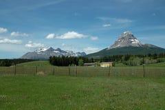 Crowsnest-Berg, BC Kanada. Lizenzfreies Stockfoto