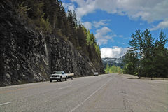 Crowsnest Highway, BC, Canada. Stock Photography