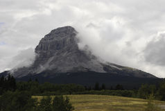 Crowsnest Mountain Royalty Free Stock Photos