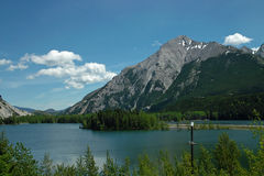 Crowsnest Pass, BC Canada. Royalty Free Stock Images
