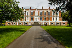 Croxteth Hall Park. Croxteth Hall in Croxteth, Liverpool, is the former country estate and ancestral home of the Molyneux family, the Earls of Sefton Royalty Free Stock Photo