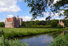 Croy castle in netherlands Stock Photo