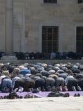 croyants musulmans de temps de prière Photos libres de droits