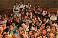 Croyants orthodoxes Photos stock