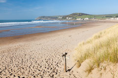 Croyde Devon England UK Royalty Free Stock Photos