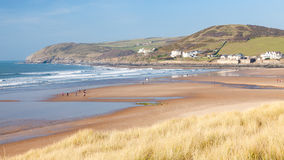 Croyde Devon England UK Royalty Free Stock Photo