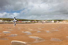 Croyde Beach Devon England UK Royalty Free Stock Photography