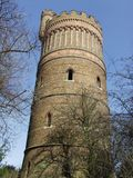 Croydon water tower in Park Hill. recreation ground royalty free stock photo
