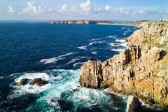Crozon camaret in brittany Stock Photography