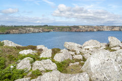 Crozon peninsula in Brittany Royalty Free Stock Photography