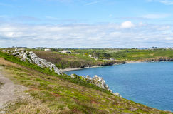 Crozon peninsula in Brittany Royalty Free Stock Images