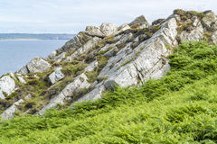 Crozon peninsula in Brittany Stock Image