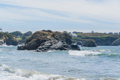 Crozon peninsula in Brittany Stock Photos
