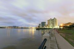 Crépuscule de pilier de Xiamen Photos libres de droits