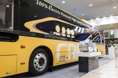 CRRC miasta elektryczny autobus Zdjęcia Stock