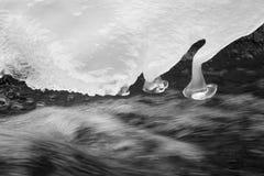 Córrego do gelo Fotografia de Stock Royalty Free