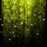 Crstm 2017-01-02 4. Illustration of beautiful bokeh Christmas background. EPS 10 vector file included Stock Photo