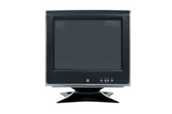 CRT computer monitor. Old-style 4:3 crt computer monitor Stock Photo