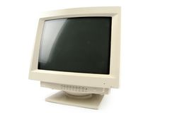 Crt monitor Royalty Free Stock Photos