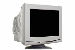 CRT monitor Royalty Free Stock Photo