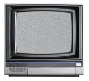 CRT TV. Isolated on white background Royalty Free Stock Images