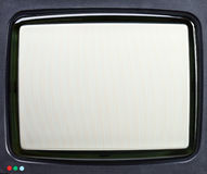 CRT TV screen Royalty Free Stock Images