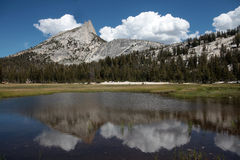 Crête de cathédrale, stationnement national de Yosemite Photos libres de droits