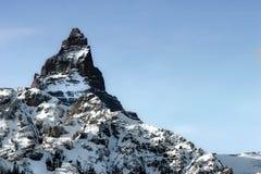 Crête de montagne Images libres de droits