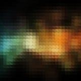 Cru abstrait de mosaïque et rétro fond Photos stock