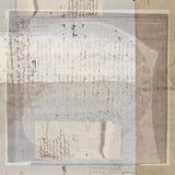 cru antique des textes d'exposé introductif images libres de droits