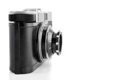 Cru appareil-photo de 35 millimètres Photographie stock