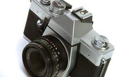 Cru appareil-photo de photo de 35 millimètres images libres de droits