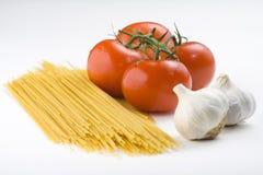 cru cru de pâtes italiennes fraîches Photographie stock