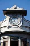 Cru de conception de tour d'horloge Images libres de droits