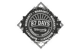 cru de conception de garantie de 87 jours, la meilleure collection de timbre illustration libre de droits
