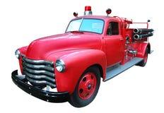 cru de firetruck Photographie stock libre de droits