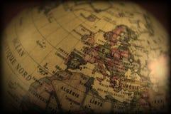 cru de globe Photos libres de droits